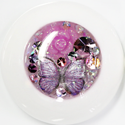 Purple butterfly land ▶ 24mm