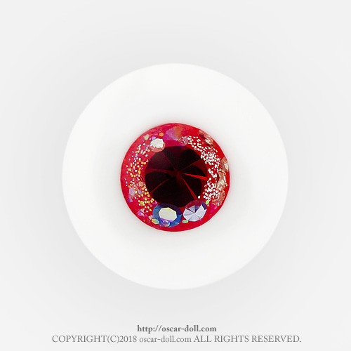 [pre-order] Small red flower ▶ 14,16,18mm