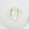 [Hand painted eyes] Snow rabbit ▶ 16mm